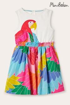 Boden Multi Safari Appliqué Dress