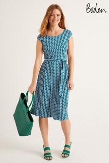 Boden Green Esmeralda Jersey Dress