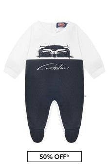 Bugatti Baby Navy Cotton Romper