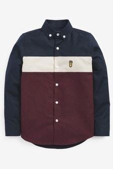 Oxford Colourblock Shirt (3-16yrs)