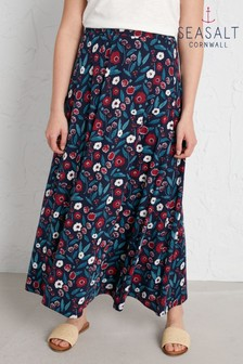 Seasalt Blue Stratus Skirt II