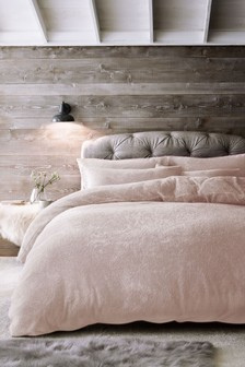 Cosy Fleece Duvet Cover and Pillowcase Set