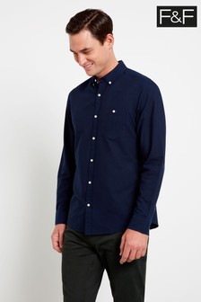 F&F Navy Oxford Shirt