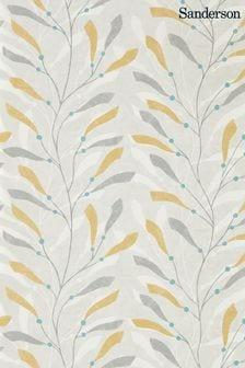 Sanderson Home Ochre Sea Kelp Wallpaper