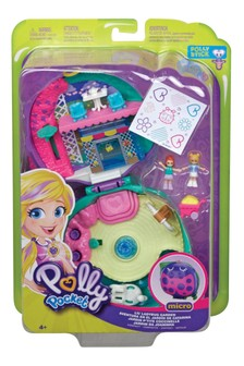 Polly Pocket Lil' Ladybug Garden Compact Playset