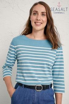 Seasalt Blue Sailor Top