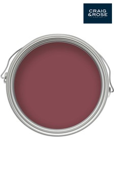 Chalky Emulsion Medici Crimson 50ml Paint Tester Pot by Craig & Rose