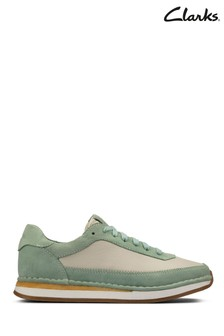 Clarks Mint CraftRun Lace Trainers