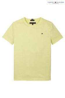 Tommy Hilfiger Yellow Essential Flag T-Shirt