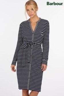 Barbour® Coastal Navy Stripe Jersey Auklet Cardigan Dress