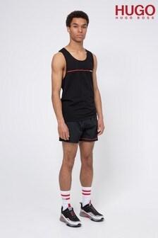 HUGO Black Copacabana Swim Shorts
