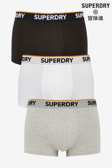 Superdry Classic Trunks Three Pack