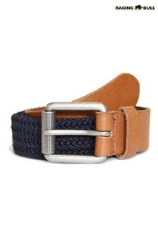 Raging Bull Blue Braided Belt