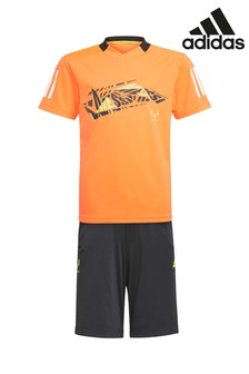 adidas Orange/Black Messi B.A.R. Set