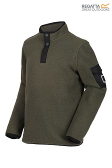 Regatta Green Melor Half Button Fleece