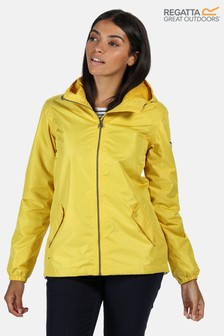 Regatta Yellow Lilibeth Waterproof Jacket