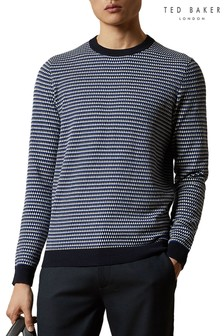 Ted Baker Skii Textured Crew Neck Sweater
