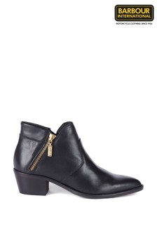 Barbour® International Gold Zip Low Ankle Boots
