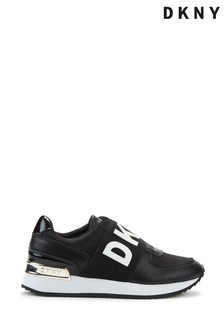 DKNY Black Marli Slip-On Trainers