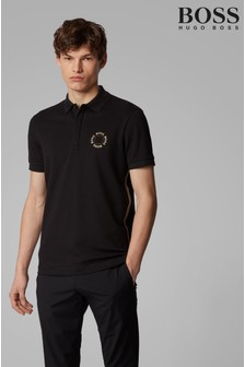BOSS Paddy 8 Circle Logo Polo Shirt