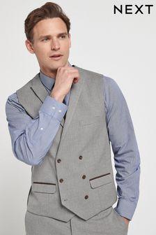 Herringbone Suit: Waistcoat
