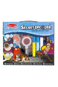 Melissa & Doug Secret Decoder Deluxe Activity Kit
