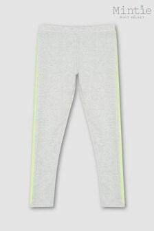 Mintie by Mint Velvet Grey Sequin Side Leggings
