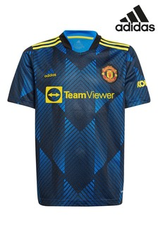 adidas Machester United 21/22 Kids Football Shirt