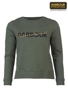 Barbour® International Script Gold Logo Portimao Sweatshirt