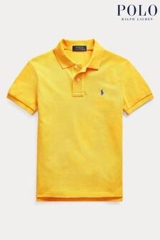 Ralph Lauren Yellow Logo Polo Shirt