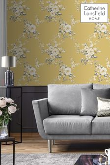Canterbury Floral Wallpaper by Catherine Lansfield