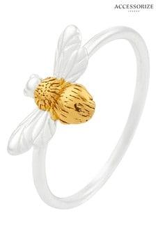 Accessorize Metalic Bee Ring