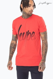Hype. Speckle Script Mens T-Shirt