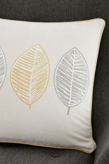 Skandi Leaf Cushion by Fusion