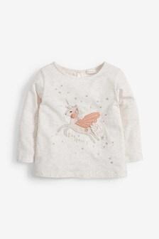 Unicorn Long Sleeve T-Shirt (3mths-7yrs)
