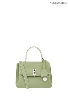 Accessorize Green Mini Handheld Handbag