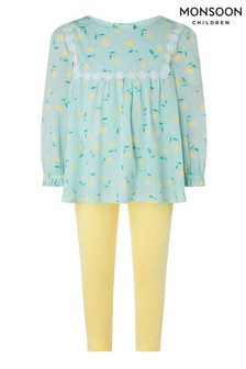 Monsoon Blue Baby Idina Daisy Set