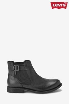 Levi's® Black Chelsea Boots