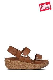 FitFlop™ Tan Remi Adjustable Sandals