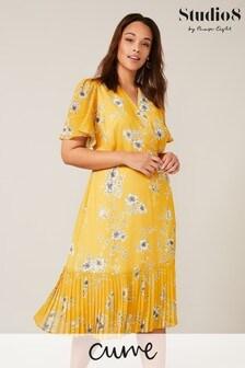 Studio 8 Yellow Maisie Floral Dress