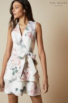 Ted Baker Dewana Bouquet Tiered Skirt Dress
