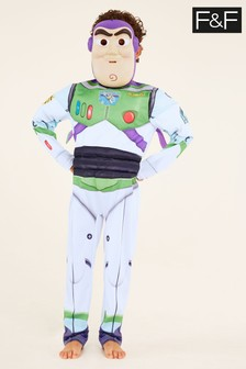 F&F White Buzz Lightyear Dress Up