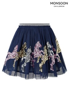 Monsoon Disco Jessie Horse Skirt