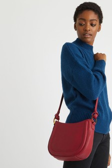 Oliver Bonas Isla Berry Ring Crossbody Bag