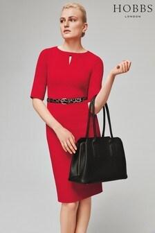 Hobbs Red Maura Dress