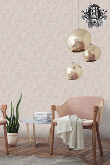 Superfresco Easy Jody Rose Gold Wallpaper by Art For The Home