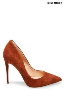 Steve Madden Brown Daisie Heel Shoes