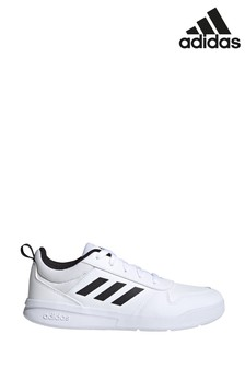 adidas White/Black Tensaur Youth & Junior Trainers