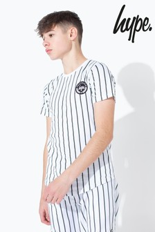Hype. Olive Stripe Kids T-Shirt