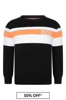Boss Kidswear Boys Cotton & Wool Sweater